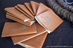 Journal favors from Chamber of Secrets Harry Potter Birthday at Kara's Party…