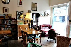 A vintage lover's dream at The Crooked Book coffee and book shop in Bournemouth - This Is Your Kingdom
