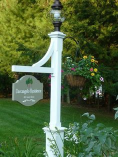 outdoor name signs - Google Search