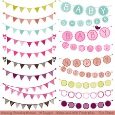 Check out Bunting Photoshop Brushes by PinkPueblo on Creative Market