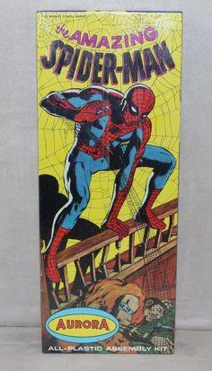 Aurora Model MIB 1966 Spiderman Spider-Man ORIGINAL FACTORY SEALED