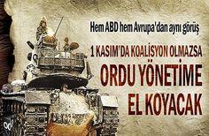 Seçimde koalisyon olmazsa Türkiye'de ordu yönetime el koyacak. İyi de Tayyip Türkiye'de ordu bırakmadı. Hangi ordu?