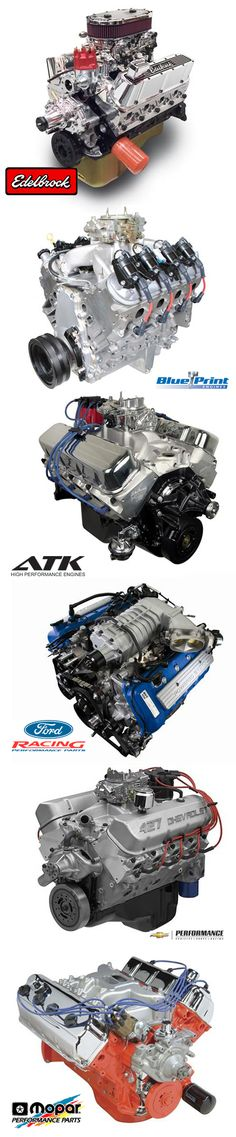 With crate engines from top brands like BluePrint Engines Chevrolet Performance Ford Racing Mopar Performance Edelbrock and more you are sure to find the complete long bl. American Graffiti, Blueprint Engines, Crate Engines, Summit Racing, Performance Engines, Truck Engine, American Muscle Cars, Fast Cars, Custom Cars