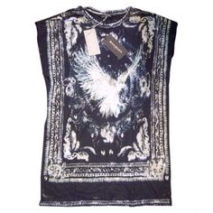 Biker t-shirt BALMAIN Black size 34 FR in Cotton Spring / Summer - 380775  #balmain  #vestiairecollective