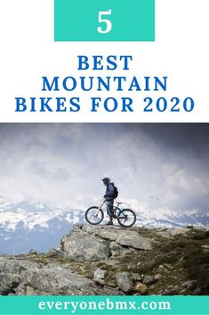 There's a mountain bike for everyone: from the cross-country racer who's all about climbing speed to the park rider who just wants to go big. Best Mountain Bikes, Mountain Biking, Santa Cruz V10, Specialized Stumpjumper, Bmx Bikes, Bike Trails, Cross Country, Rocky Mountains, Climbing