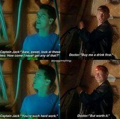 Nine and Jack were so sweet ;)