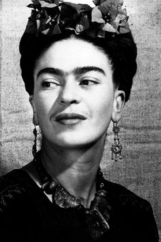 Frida Kahlo Proving that a lady unibrow can be sexy.  Photo: Popperfoto/Getty Images