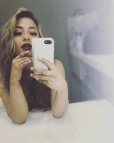 Ally Brooke mirror selfie
