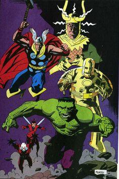 Avengers - Mike Mignola
