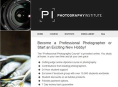 Welcome to The Photography Institute. The Diploma of Professional Photography Course is provided online. Study at home, in your own time and at your own pace! Photography Institute, Photography Courses, Online Diploma Courses, Online Photography Course, Home Study, New Hobbies, Professional Photography, Training, Student