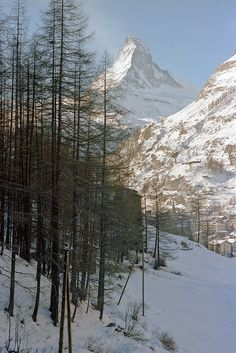Zermatt winter