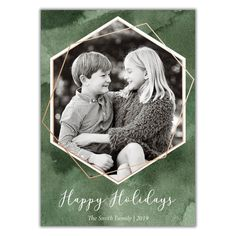We're constantly adding new designs to Brown Paper Studios. Christmas Photo Cards, Christmas Photos, Holiday Cards, New Year Greeting Cards, New Year Greetings, Brown Paper, Happy Holidays, Emerald Green, Xmas Pics