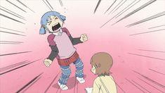 日常 アニメ gif