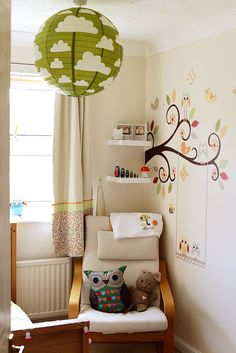 Little Girls Room Toddlers Room Owls Interior Nursery Interior Baby Room