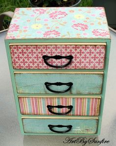 shabby chic jewelry box - Google Search