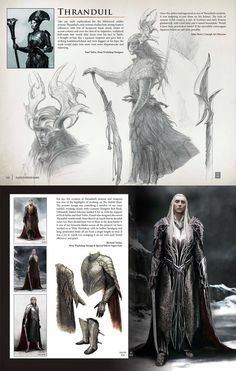 Thranduil concept art? Yes please!