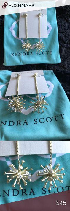 NWOT Tricia Kendra Scott Earrings New without Tags Kendra Scott Jewelry Earrings