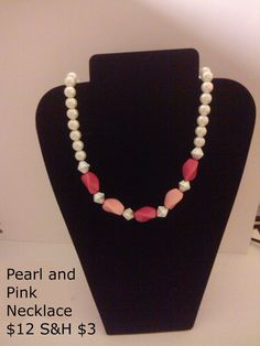 Pearl and Pink Necklace
