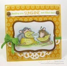 House Mouse Sending You Sunshine