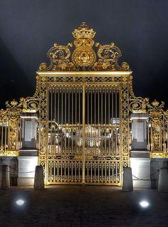 Golden Entrance to Versailles