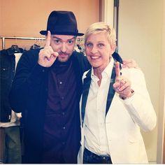 Justin Timberlake - Celebrity Social Media Shots
