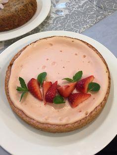 pink cheese cake