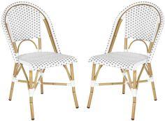 Ellis Stacking Chair (Indoor/Outdoor), Set of 2 - Safavieh - $268 - domino.com