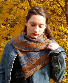 Knit this beautiful scarf with leftover Sock-Ease! This is an excellent stashbuster project and makes a fantastic one-of-a-kind gift!