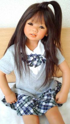 little girl doll .. SETINAちゃん 制服
