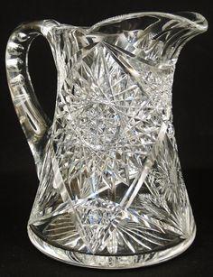 Vintage Cut Crystal Pitcher Patterns - Bing Images
