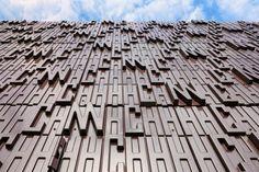 Studio Marco Vermeulen, bio-based facade, The Horticultural Development Company, hemp composite, bioresin, cubic gas transfer station, dutch architecture