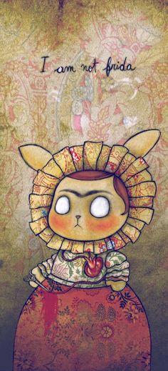 Fabian Ciraolo - Series 01 Digital Illustration (Frida)
