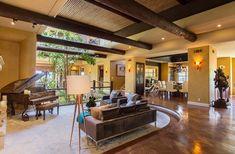 Inside-Celebrity-Homes-Tommy-Lee-House-at-Calabasas- #celebritylivingrooms #tommylee