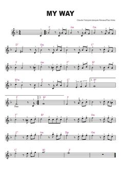 Trumpet Sheet Music, Violin Sheet Music, Piano Music, Guitar Chords, Ukulele, Music Tabs, Lead Sheet, Piano Tutorial, Piano Songs