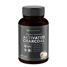 Whole Nature ® What Is Activated Charcoal, Activated Charcoal Capsules, Coconut Activated Charcoal, Holistic Remedies, Home Remedies, Health And Beauty, Detox, Nutrition