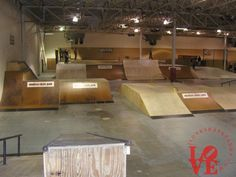 indoor skatepark - Google Search