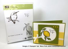 Stampin' up! stampin up stamping stampinup pretty mary fish a happy thing 4 Occasions Catalog