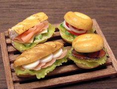 Cuatro tipos de sándwich