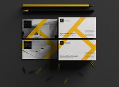 Kolektyw architectural studio - Business Cards by Wojciech Zalot and Gosia Zalot