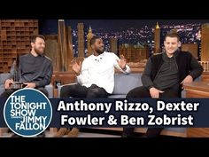 WATCH: Cubs players on the Tonight Show with Jimmy Fallon - Anthony Rizzo Chicago Cubs Baseball Player Update | CubsHQ