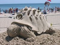 1st Place Winner-Sand Sculpture Festival at Revere Beach, Boston MA