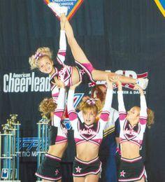 Cheerleading Featured Stunt - Callaway Rebel Stars Cheerleaders - Pyramid