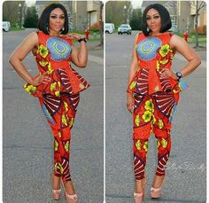 See Millions of Latest Ankara styles, Aso ebi lace designs stylish women are wearing to parties , work and weddings in Nigeria on African Men Fashion, Africa Fashion, African Fashion Dresses, Ethnic Fashion, African Women, Ankara Fashion, Women's Fashion, African Attire, African Wear