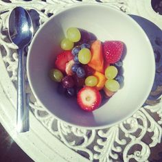 colourful breakfast - fruit