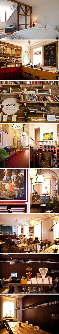 The Independente Hostel & Suites (and food & bar) - Lisbon (original link: http://www.journal-du-design.fr/index.php/design/the-independente-hostel-suites-a-lisbonne-25328/)