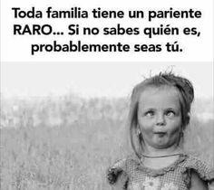 Creo que en mi familia voy a ser yo ... #memes #chistes #chistesmalos #imagenesgraciosas #humor http://www.megamemeces.com/memeces/imagenes-de-humor-vs-videos-divertidos