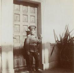 Tsarevich Alexei of Russia, in Livadia, October 9, 1913