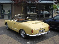 Yellow Karmann Ghia