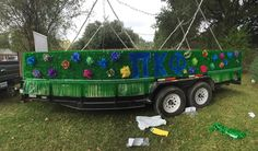 University/College Homecoming 2015 Parade Float- Wonderland theme