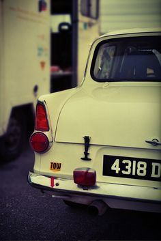 A ford Anglia would be nice. Honestly, though, I'll take anything on wheels.